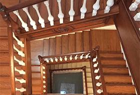 武汉实木楼梯扶手